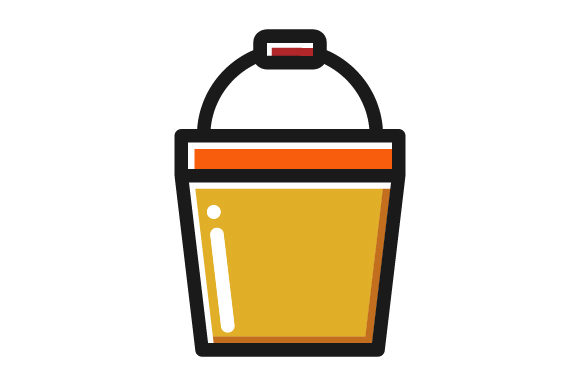 Download Free Bucket Farm Filled Line Icon Logo Design Graphic By for Cricut Explore, Silhouette and other cutting machines.