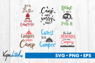 Camping Graphic By Vectorbundles Creative Fabrica