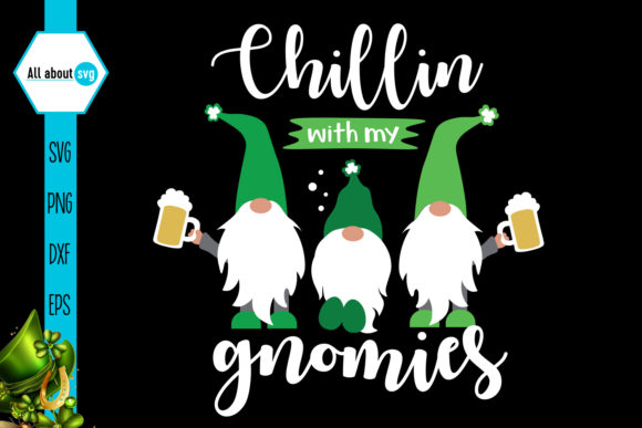 Chillin' with My Gnomies Graphic Crafts By All About Svg - Image 5
