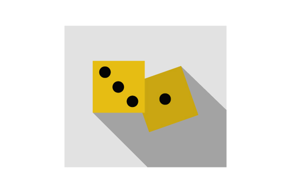 Download Free Dice Icon Graphic By Marco Livolsi2014 Creative Fabrica for Cricut Explore, Silhouette and other cutting machines.