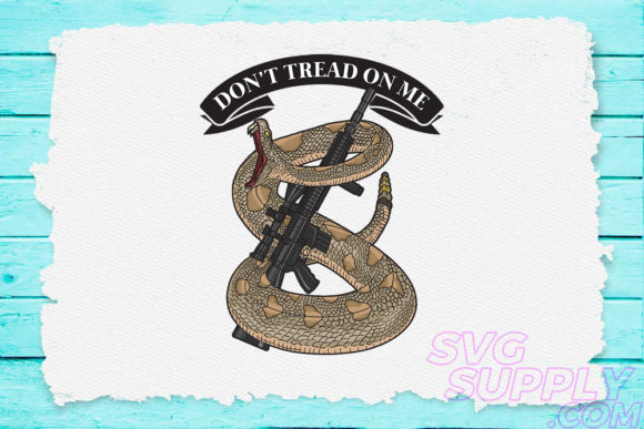 Don't Tread on Me Graphic
