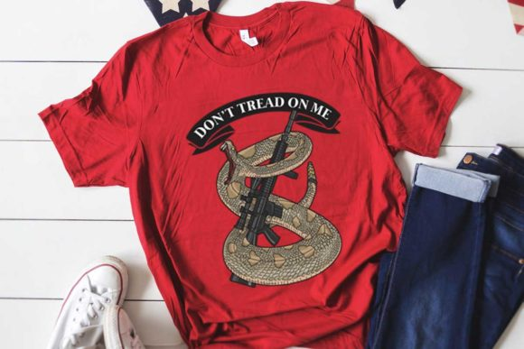 Don't Tread on Me Graphic Download