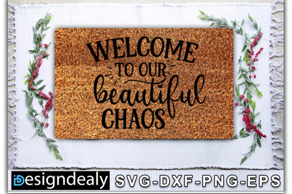 Print on Demand: Doormat Bundle Graphic Print Templates By Designdealy.com - Image 15