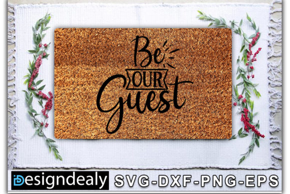 Print on Demand: Doormat Bundle Graphic Print Templates By Designdealy.com - Image 2