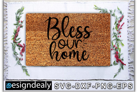 Print on Demand: Doormat Bundle Graphic Print Templates By Designdealy.com - Image 3