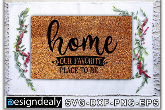 Print on Demand: Doormat Bundle Graphic Print Templates By Designdealy.com - Image 8