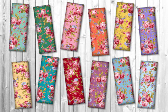 Flowers Bookmarks Bookmarks Graphic Crafts By denysdigitalshop