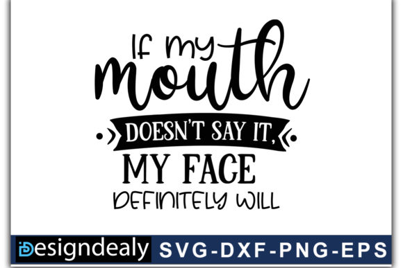 Print on Demand: Funny Quotes SVG Bundle 02 Graphic Print Templates By Designdealy.com - Image 8