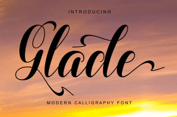 Print on Demand: Glade Script & Handwritten Font By Encolab