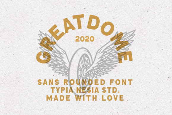 Print on Demand: Great Dome Sans Serif Font By Typia Nesia