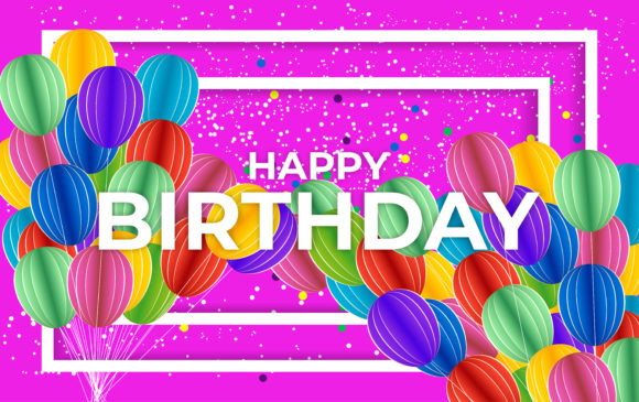 Happy Birthday Graphic Backgrounds By nainggig
