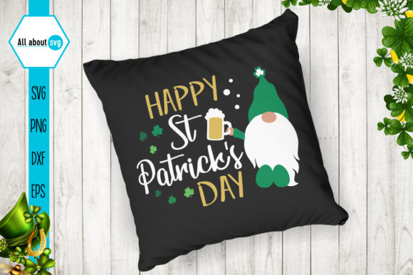 Happy St Patrick's Day Graphic Crafts By All About Svg - Image 4