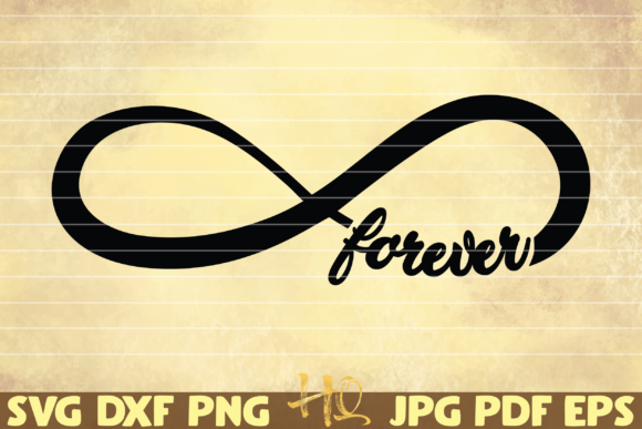Print on Demand: Infinity Sign Forever Graphic Graphic Templates By mihaibadea95