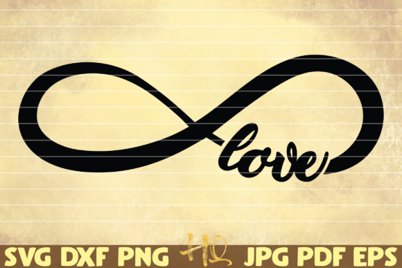Download Free Infinity Sign Love Graphic By Mihaibadea95 Creative Fabrica for Cricut Explore, Silhouette and other cutting machines.