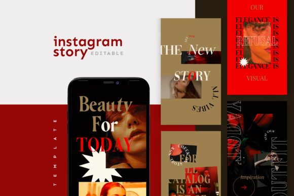 Print on Demand: Instagram Story Template Graphic Websites By ovoz.graphics - Image 1