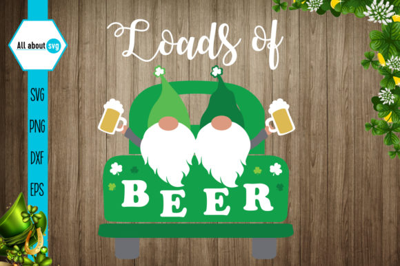 Loads of Beer Graphic Crafts By All About Svg - Image 1