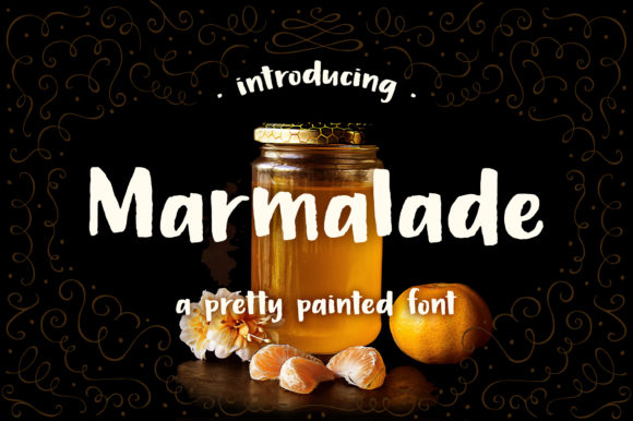 Print on Demand: Marmalade Script & Handwritten Font By rachelwhiteart
