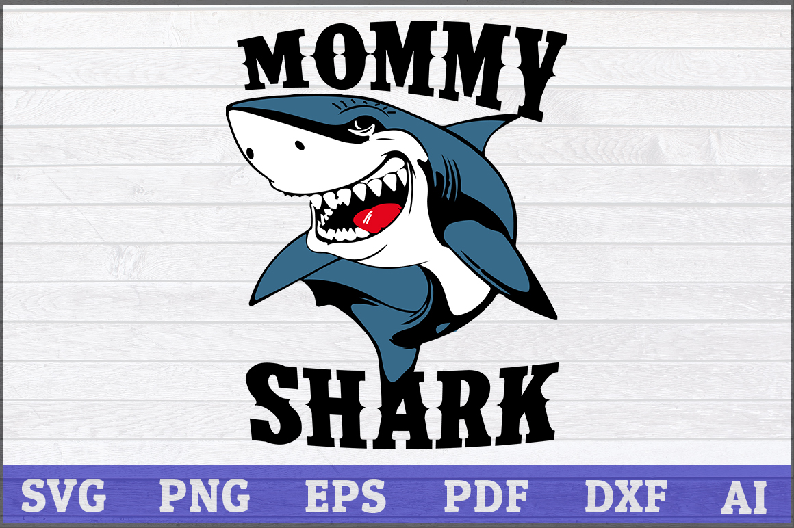 Download Free Mommy Shark Grafico Por Aartstudioexpo Creative Fabrica for Cricut Explore, Silhouette and other cutting machines.