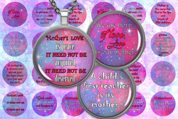 Mother Day Quotes Quotes Digital Collage Graphic Crafts By denysdigitalshop