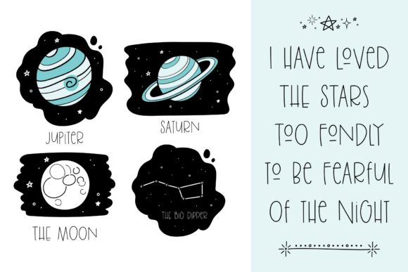 Stars Graphic Illustrations By rachelwhiteart - Image 2