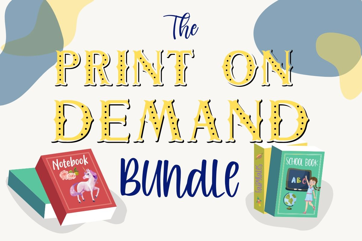 Download Free The Print On Demand Bundle Bundle Creative Fabrica for Cricut Explore, Silhouette and other cutting machines.