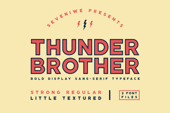 Thunderbrother Font