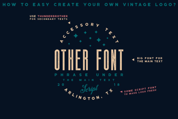 Thunderbrother Font Download