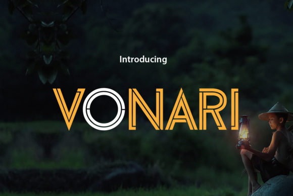Print on Demand: Vonari Sans Serif Font By da_only_aan - Image 1