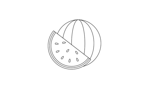 Coloring Book Fruit to Educate Kids. Lea Graphic Coloring Pages & Books Kids By DEEMKA STUDIO