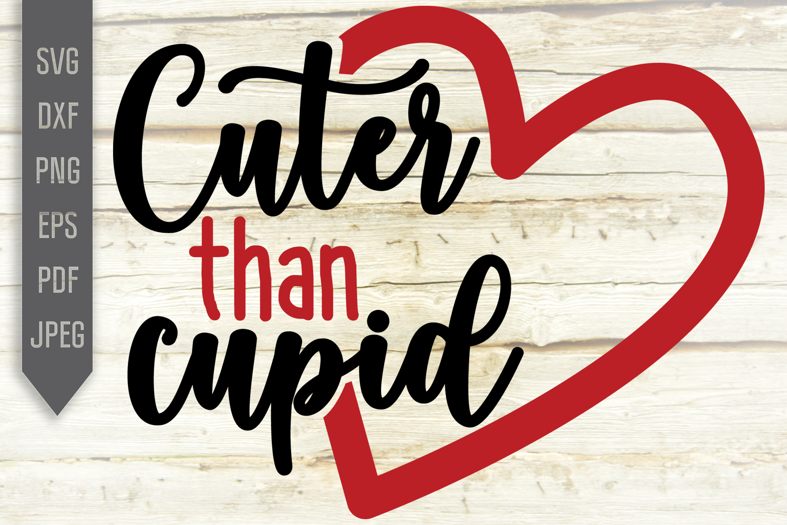 Download Free Cuter Than Cupid Svg Valentine S Day Graphic By Svglaboratory for Cricut Explore, Silhouette and other cutting machines.