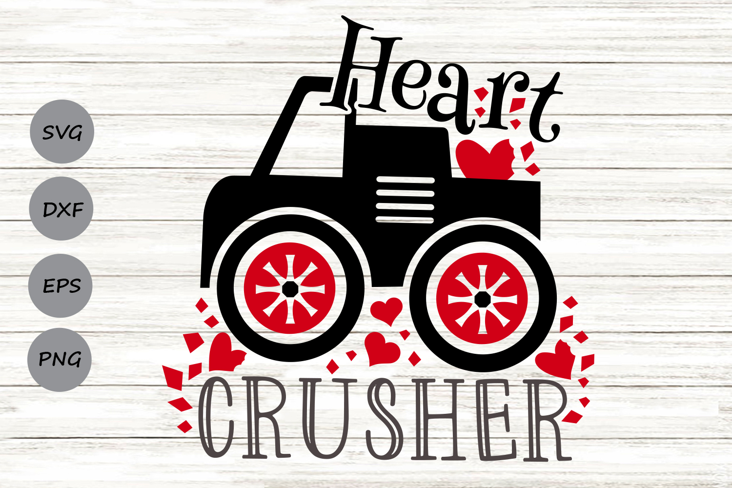 Download Free Heart Crusher Graphic By Cosmosfineart Creative Fabrica for Cricut Explore, Silhouette and other cutting machines.