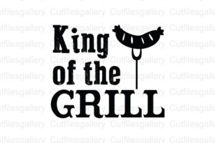 Download Free King Of The Grill Svg Graphic By Cutfilesgallery Creative Fabrica for Cricut Explore, Silhouette and other cutting machines.