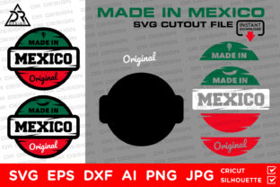 Download Free Made In Mexico Svg Cutout File Grafico Por Davidrockdesign for Cricut Explore, Silhouette and other cutting machines.