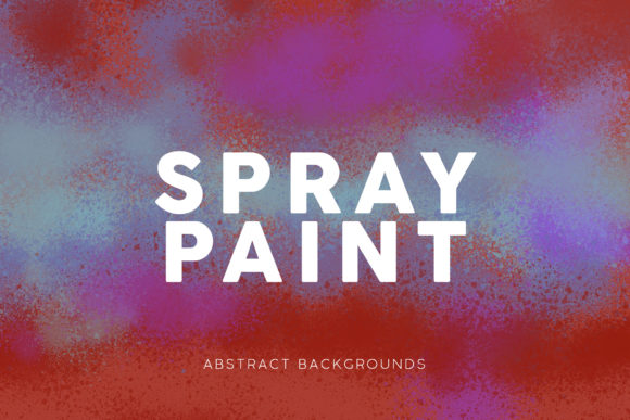Print on Demand: Spray Paint Leaks Backgrounds Graphic Backgrounds By ArtistMef