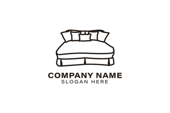 Bed Logo Ideas Inspiration Logo Design Graphic By