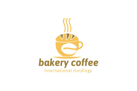 Cake Bakery And Coffee Logo Ideas Insp Graphic By