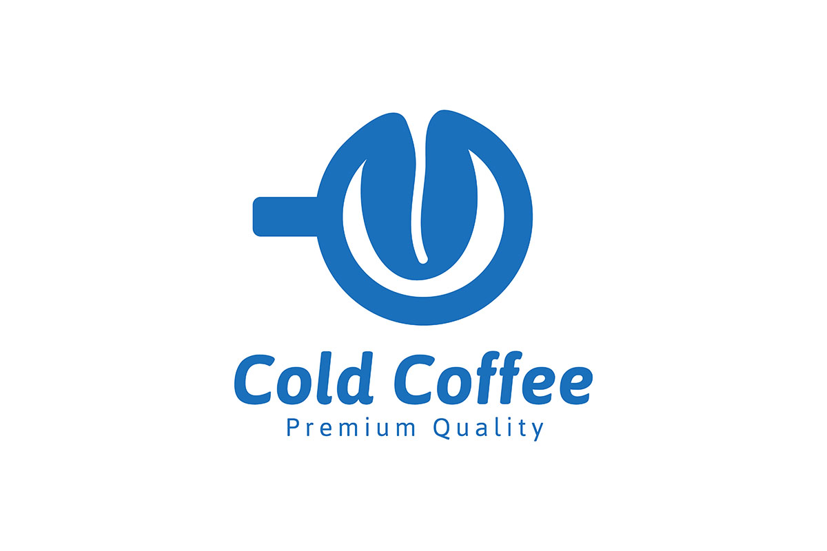 Download Free Cold Coffee Logo Ideas Inspiration Logo Graphic By for Cricut Explore, Silhouette and other cutting machines.