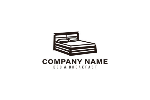 Creative Premium Bed Furniture Logo Idea Graphic By