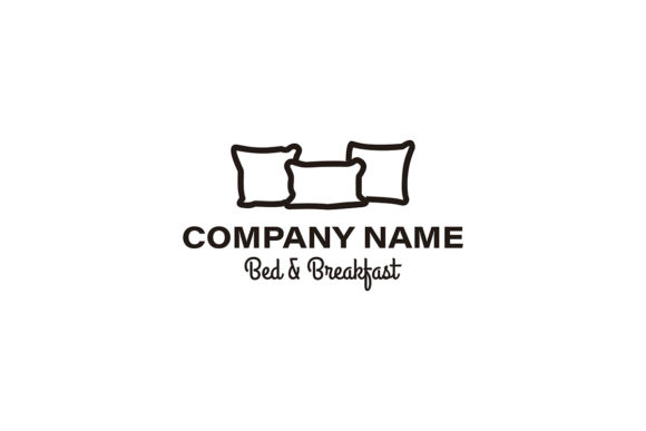 Download Free Creative Premium Pillow Furniture Logo I Graphic By for Cricut Explore, Silhouette and other cutting machines.