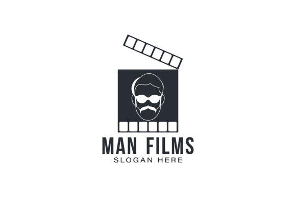 Download Free Man Films Director Logo Ideas Inspirati Graphic By for Cricut Explore, Silhouette and other cutting machines.