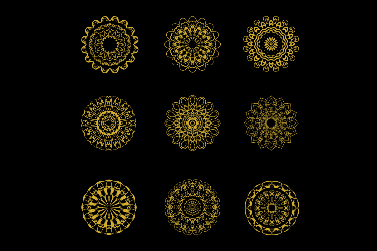 Download Free Mandala 03 Graphic By Daurstudioo Creative Fabrica for Cricut Explore, Silhouette and other cutting machines.