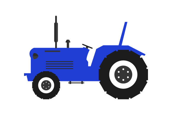 Print on Demand: Tractor Icon Graphic Icons By marco.livolsi2014