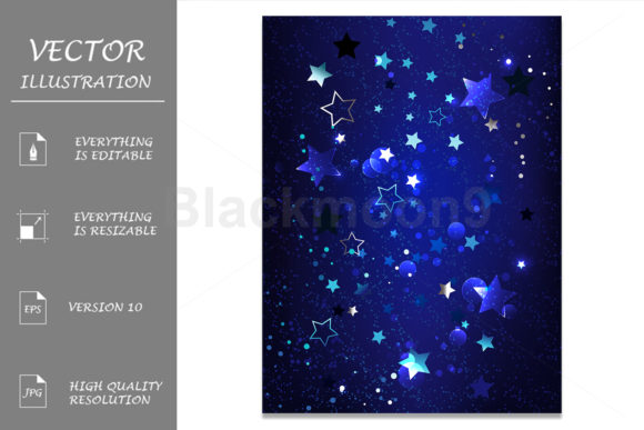 Abstract Blue Background Graphic Illustrations By Blackmoon9
