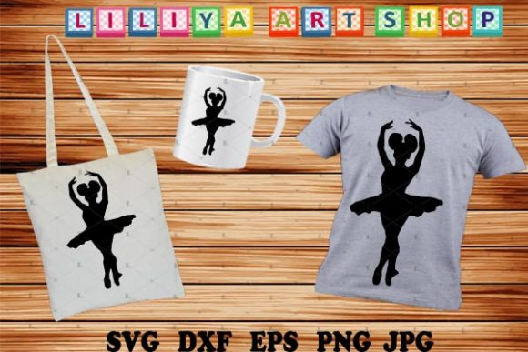 Download Free Afro Ballerina Graphic By Liliyaartshop Creative Fabrica for Cricut Explore, Silhouette and other cutting machines.