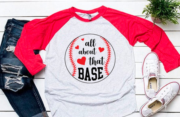 Download Free All About That Base Svg For Baseball Tsh Graphic By Svgsupply for Cricut Explore, Silhouette and other cutting machines.