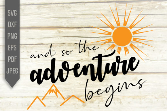 Download Free And So The Adventure Begins Svg Baby Graphic By Svglaboratory for Cricut Explore, Silhouette and other cutting machines.