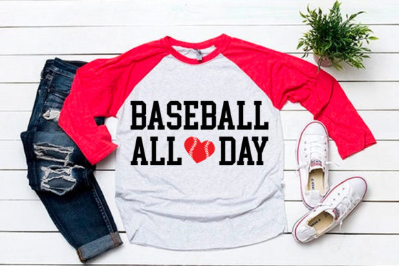 Download Free Baseball All Day Svg For Baseball Tshirt Graphic By Svgsupply for Cricut Explore, Silhouette and other cutting machines.
