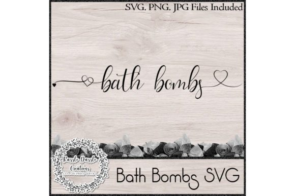 Download Free Bath Bombs Graphic By Razzle Dazzle Creationz Creative Fabrica for Cricut Explore, Silhouette and other cutting machines.