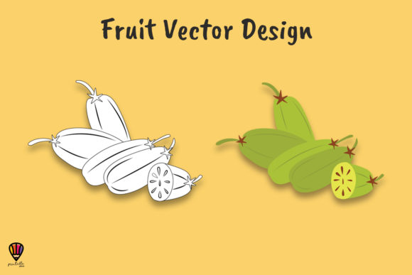 Download Free Bilimbi Fruit Vector Illustration Graphic By Printablesplazza for Cricut Explore, Silhouette and other cutting machines.
