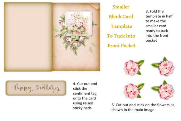 Download Free Birthday Card Making Kit Graphic By Digitalcraftsco Creative for Cricut Explore, Silhouette and other cutting machines.